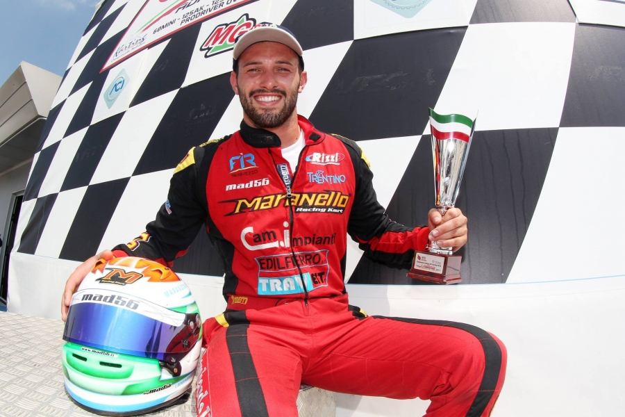 Maranello kart again on the Podium!